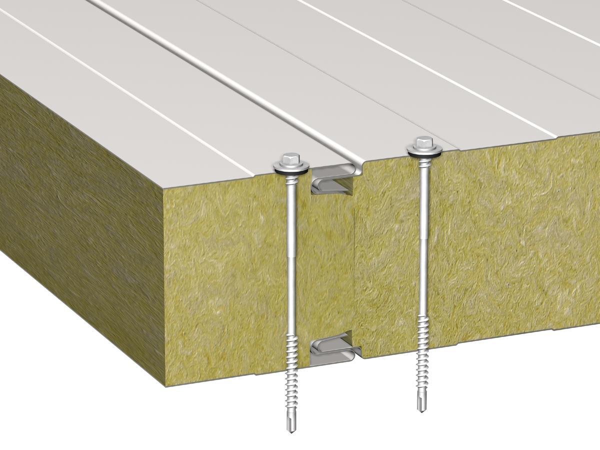 Панели трехслойные стеновые монтаж своими руками